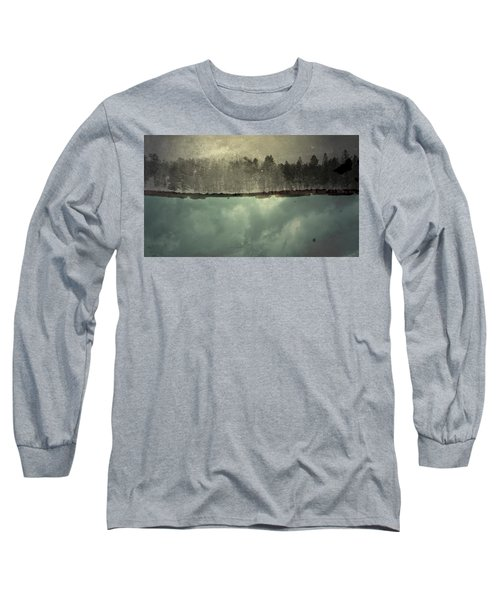 No One Ever Leaves  Long Sleeve T-Shirt by Mark Ross