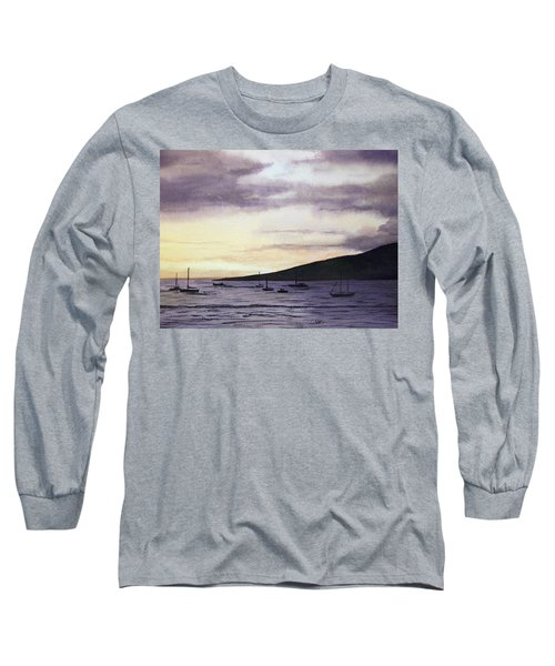 No Safer Harbor Lahaina Hawaii Long Sleeve T-Shirt