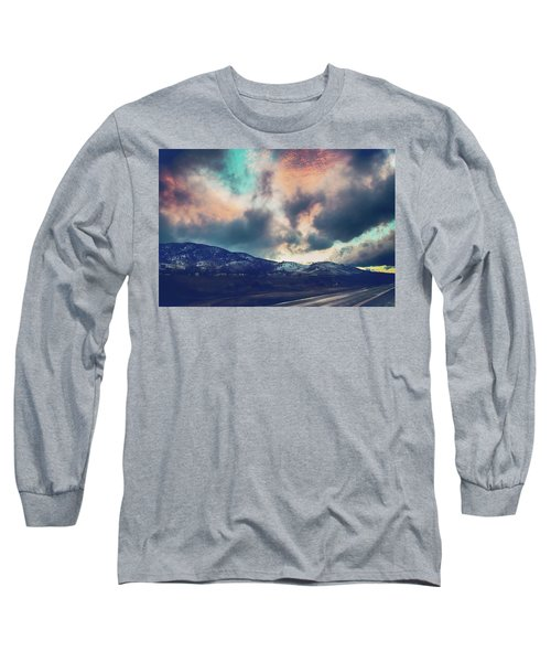Long Sleeve T-Shirt featuring the photograph No Stopping Us Now by Laurie Search