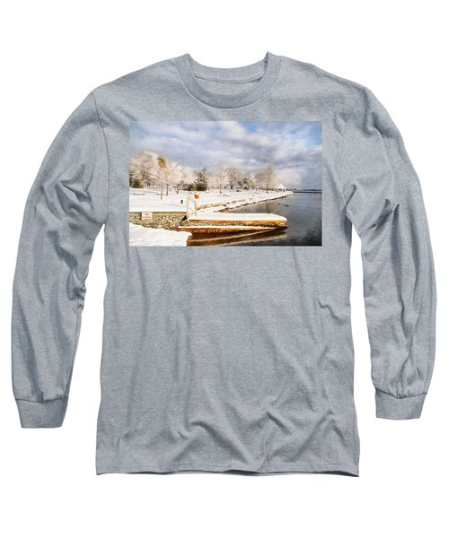 No Swimming Long Sleeve T-Shirt