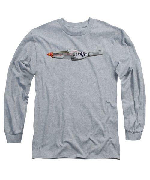 Nooky Booky I V - P-51 D Mustang Long Sleeve T-Shirt