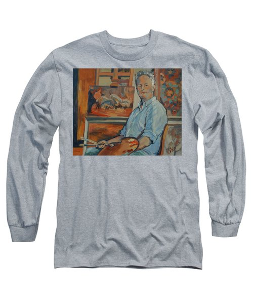 Nop Briex Self Portrait Long Sleeve T-Shirt