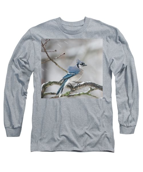 Nor' Easter Blue Jay Long Sleeve T-Shirt