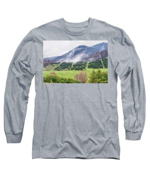 North Carolina Christmas Tree Farm Long Sleeve T-Shirt