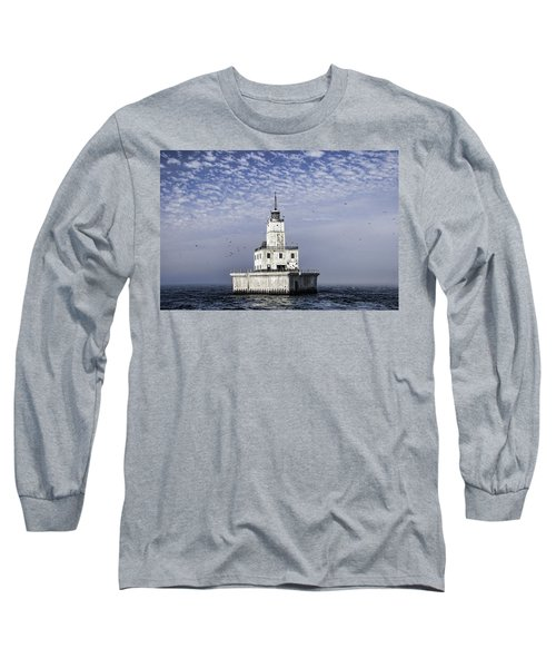 North Manitou Shoal Light Long Sleeve T-Shirt