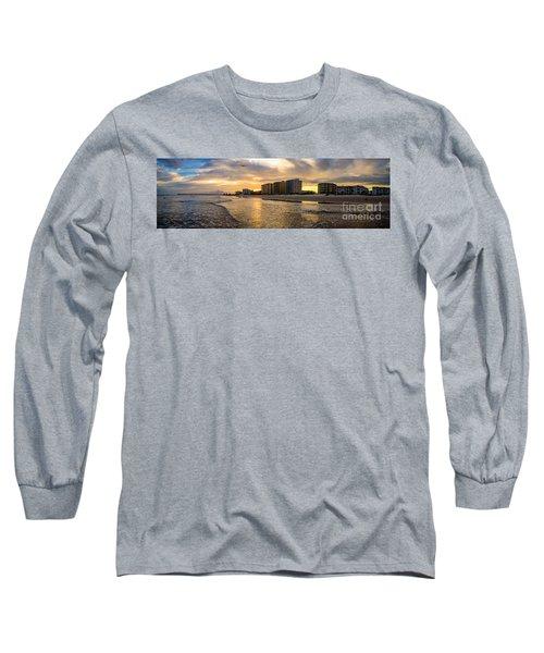 North Myrtle Beach Sunset Long Sleeve T-Shirt