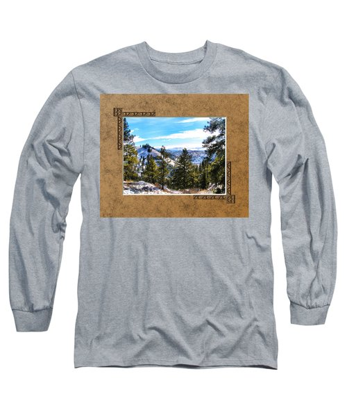 Long Sleeve T-Shirt featuring the photograph North View by Susan Kinney