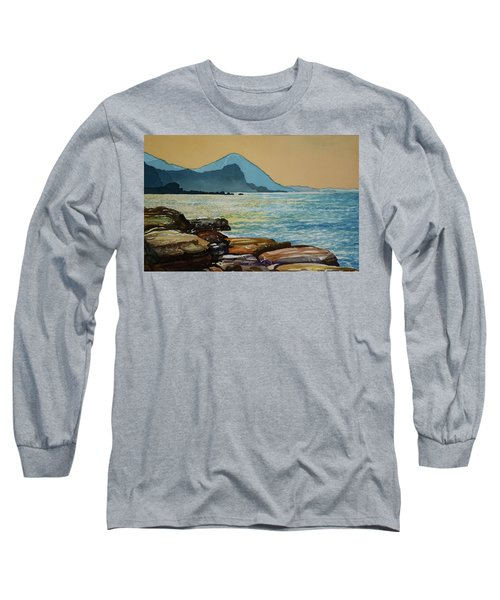 Northeast Coast Of Taiwan Long Sleeve T-Shirt