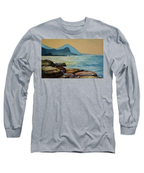 Northeast Coast Of Taiwan Long Sleeve T-Shirt