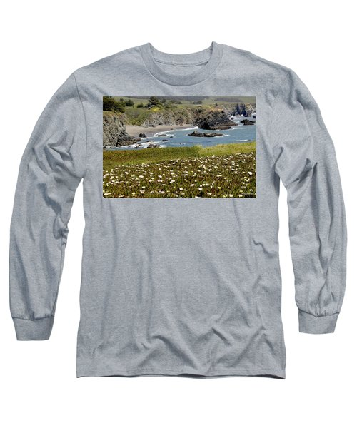 Northern California Coast Scene Long Sleeve T-Shirt