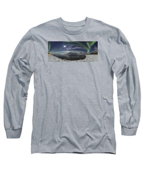 Northern Lights Panoramic II Long Sleeve T-Shirt