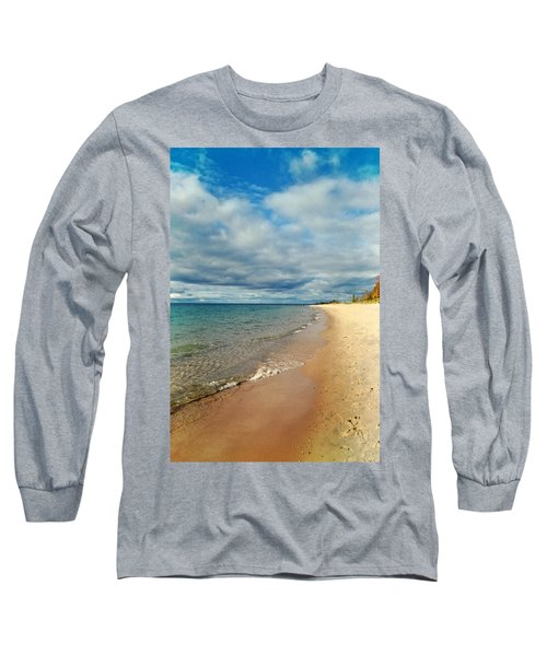 Long Sleeve T-Shirt featuring the photograph Northern Shore by Michelle Calkins