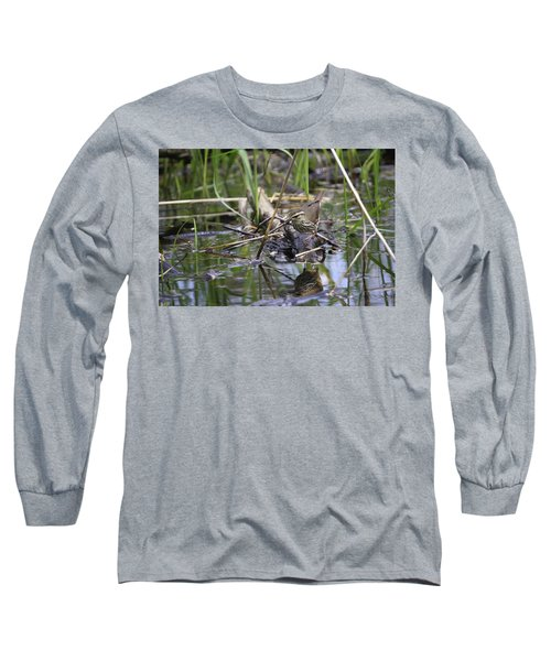Northern Waterthrush Long Sleeve T-Shirt