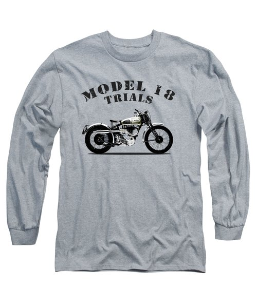 Norton Model 18 Trials 1938 Long Sleeve T-Shirt
