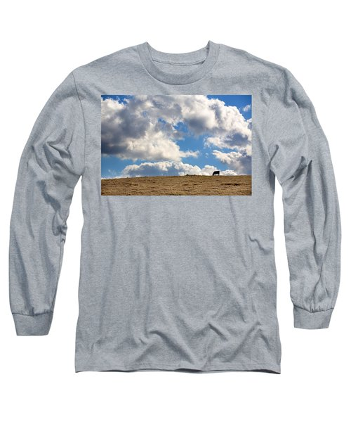Not A Cow In The Sky Long Sleeve T-Shirt