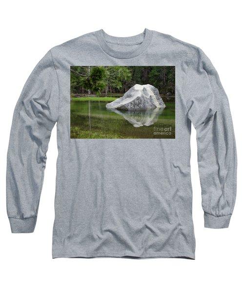 Not An Iceberg Long Sleeve T-Shirt by Debby Pueschel