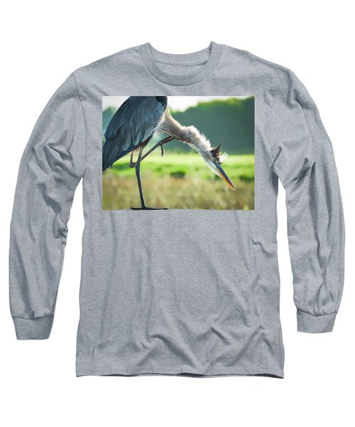 Nothing Like A Good Scratch Long Sleeve T-Shirt