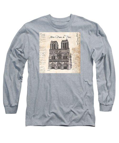 Notre Dame De Paris Long Sleeve T-Shirt