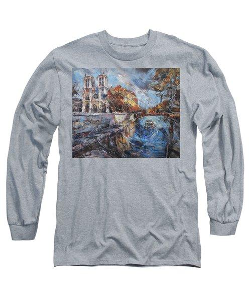 Notre-dame De Paris Long Sleeve T-Shirt