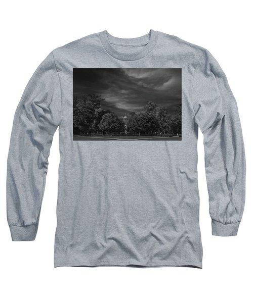 Long Sleeve T-Shirt featuring the photograph Notre Dame University 6a by David Haskett