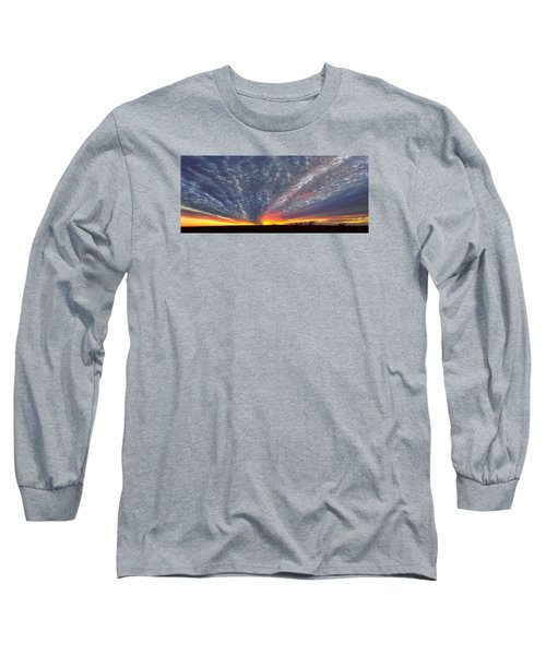 Long Sleeve T-Shirt featuring the photograph November Magic by Rod Seel