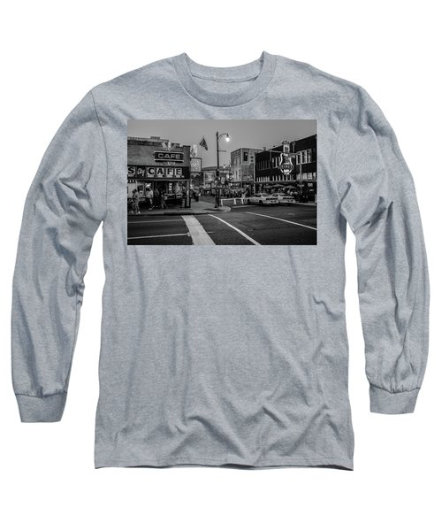 Now Entering Beale  Long Sleeve T-Shirt