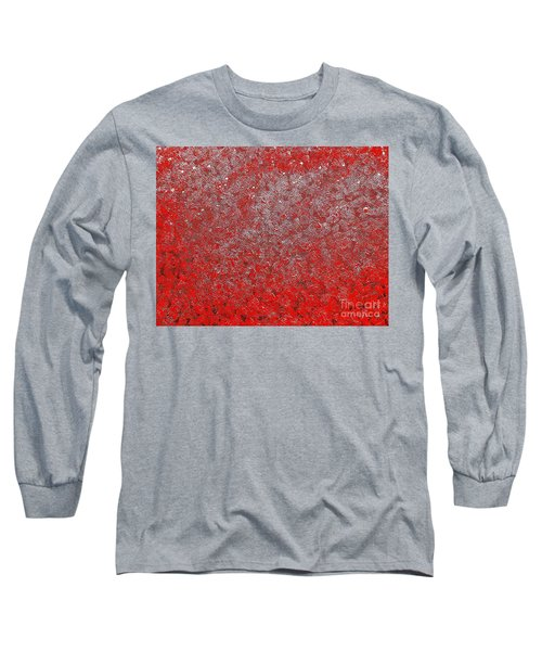 Now It's Red Long Sleeve T-Shirt by Rachel Hannah