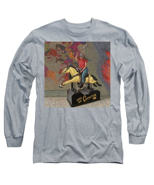 Now We Ride Long Sleeve T-Shirt by Holly Wood