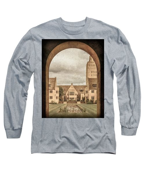 Oxford, England - Nuffield College Long Sleeve T-Shirt