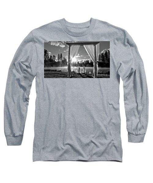 Long Sleeve T-Shirt featuring the photograph Nuptials by Julia Hassett