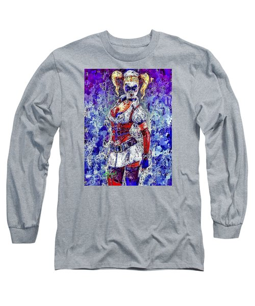 Nurse Harley Quinn Long Sleeve T-Shirt
