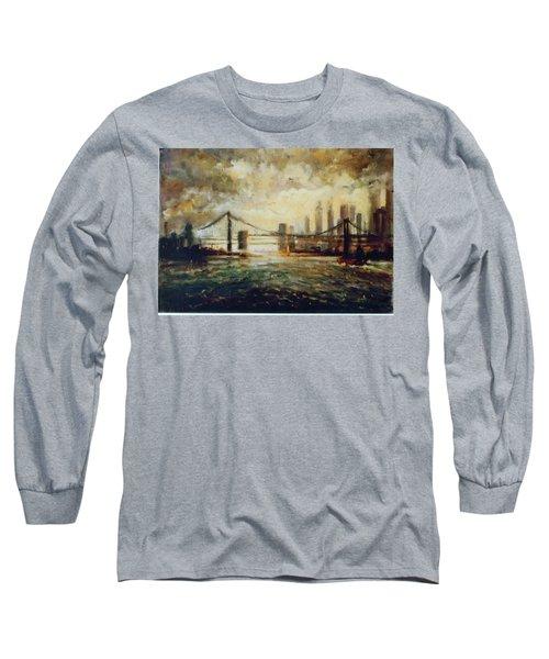 Nyc Harbor Long Sleeve T-Shirt