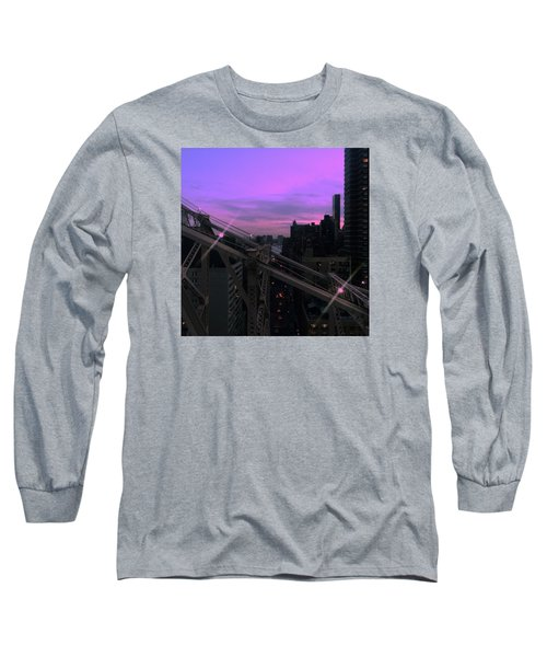 Nyc Sunset Long Sleeve T-Shirt