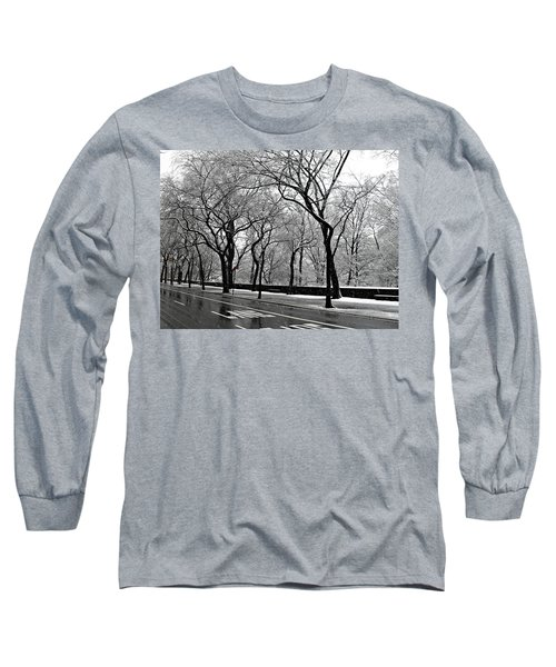 Nyc Winter Wonderland Long Sleeve T-Shirt