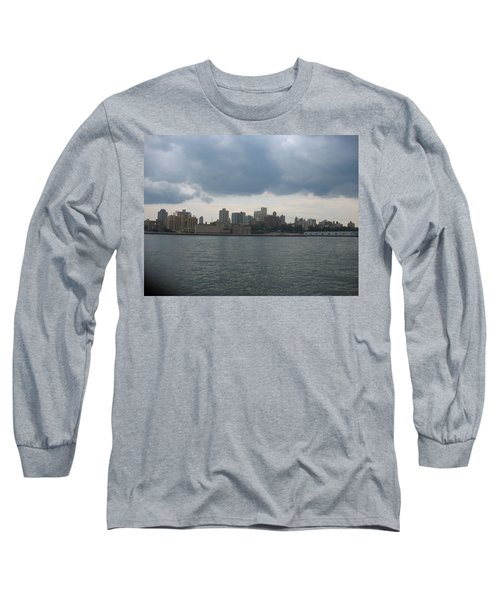 Nyc4 Long Sleeve T-Shirt by Donna Andrews
