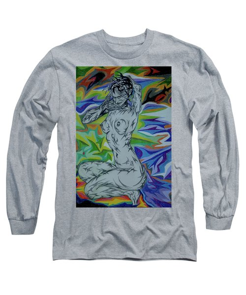 Nymph In Paradise Long Sleeve T-Shirt