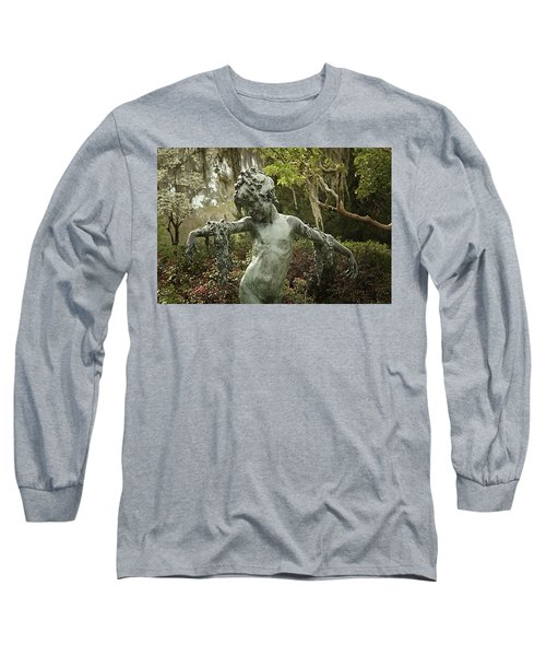 Long Sleeve T-Shirt featuring the photograph Wood Nymph by Jessica Brawley