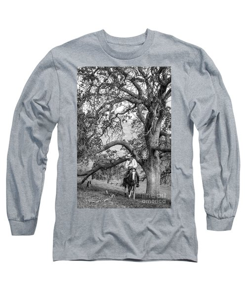 Oak Arches Long Sleeve T-Shirt by Diane Bohna