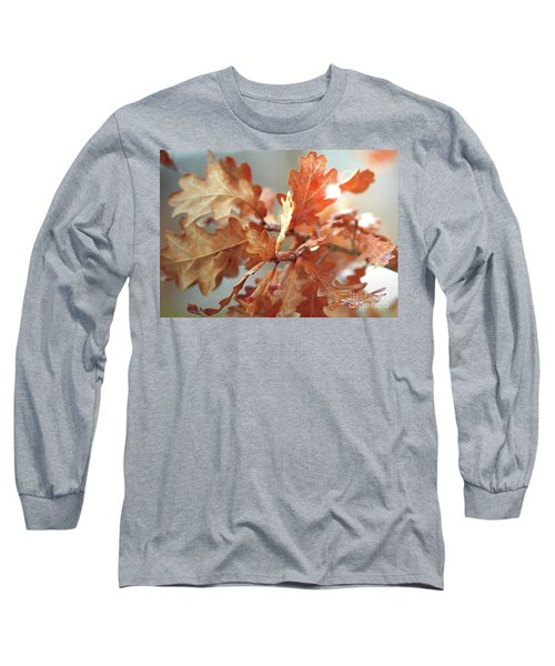 Oak Leaves In Autumn Long Sleeve T-Shirt