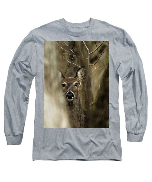 Observed  Long Sleeve T-Shirt by Bruce Patrick Smith