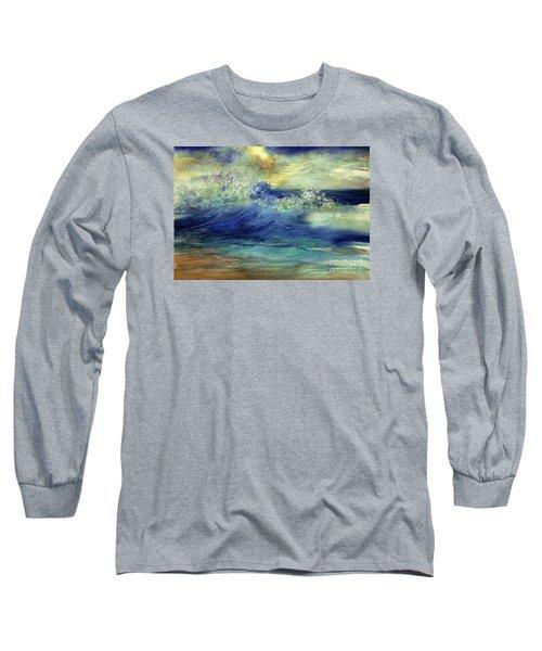 Ocean Long Sleeve T-Shirt by Allison Ashton