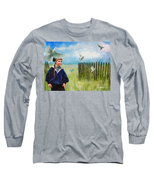 Ocean Breeze Long Sleeve T-Shirt by Alexis Rotella