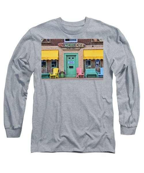 Ocean City N J Surf Cafe Long Sleeve T-Shirt