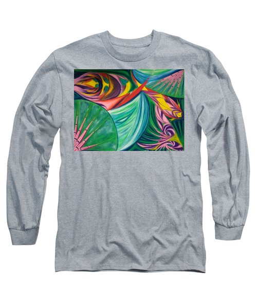 Ocean Graffiti Long Sleeve T-Shirt