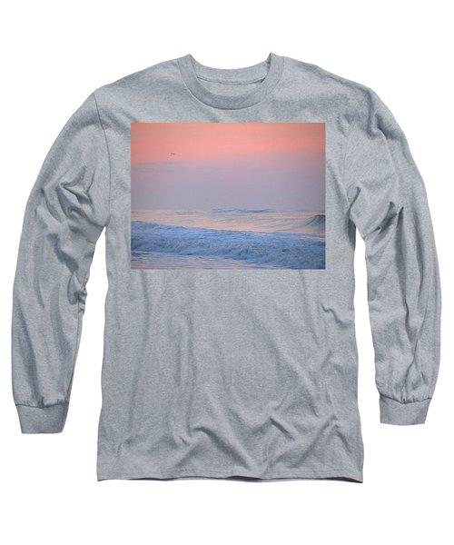 Ocean Peace Long Sleeve T-Shirt by  Newwwman
