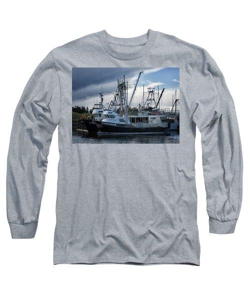 Ocean Phoenix Long Sleeve T-Shirt by Randy Hall