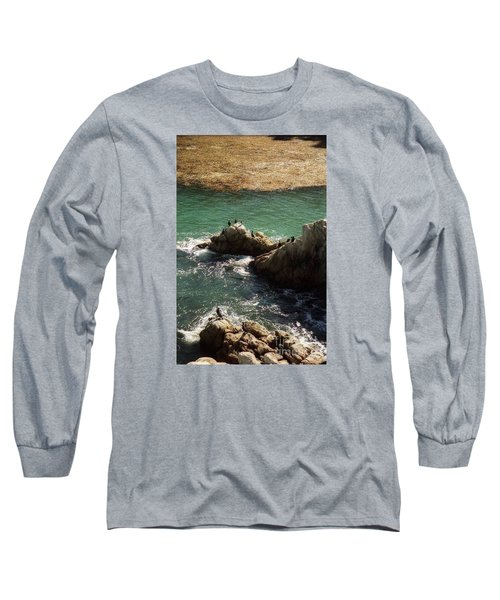 Ocean Rock Near Carmel Long Sleeve T-Shirt