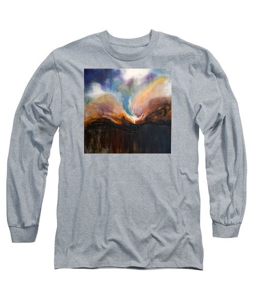 Oceans Apart Long Sleeve T-Shirt by Theresa Marie Johnson