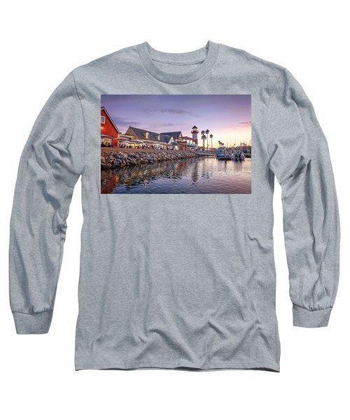 Oceanside Harbor Long Sleeve T-Shirt