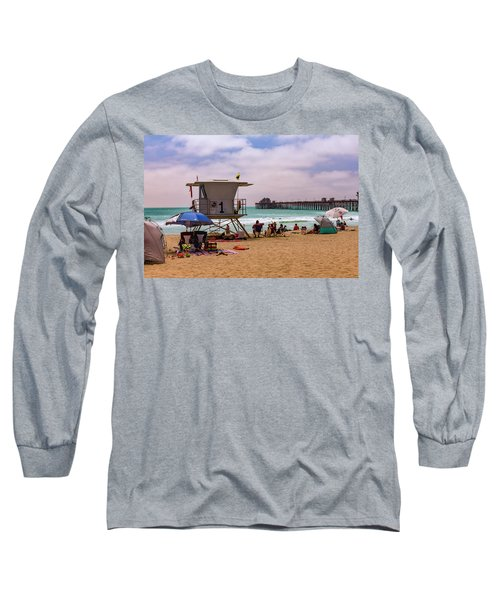 Oceanside Lifeguard Long Sleeve T-Shirt
